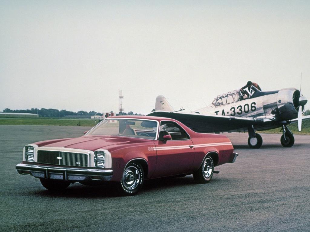 Chevrolet El Camino SS 1976-77