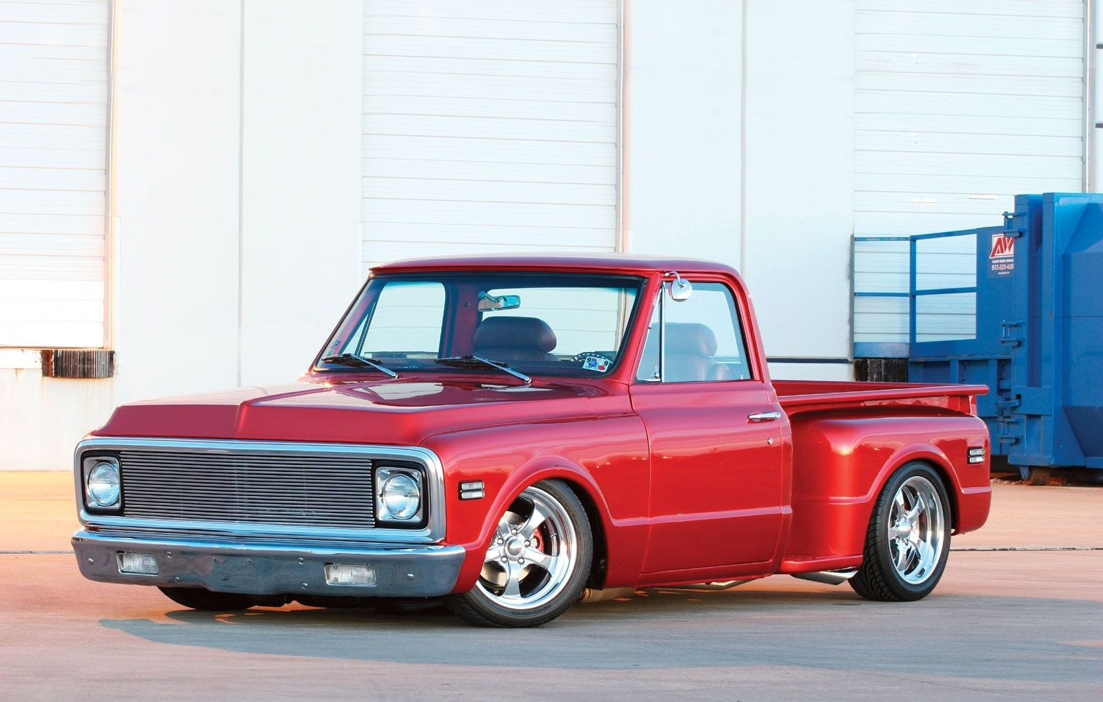 Chevy Stepside Truck 1972