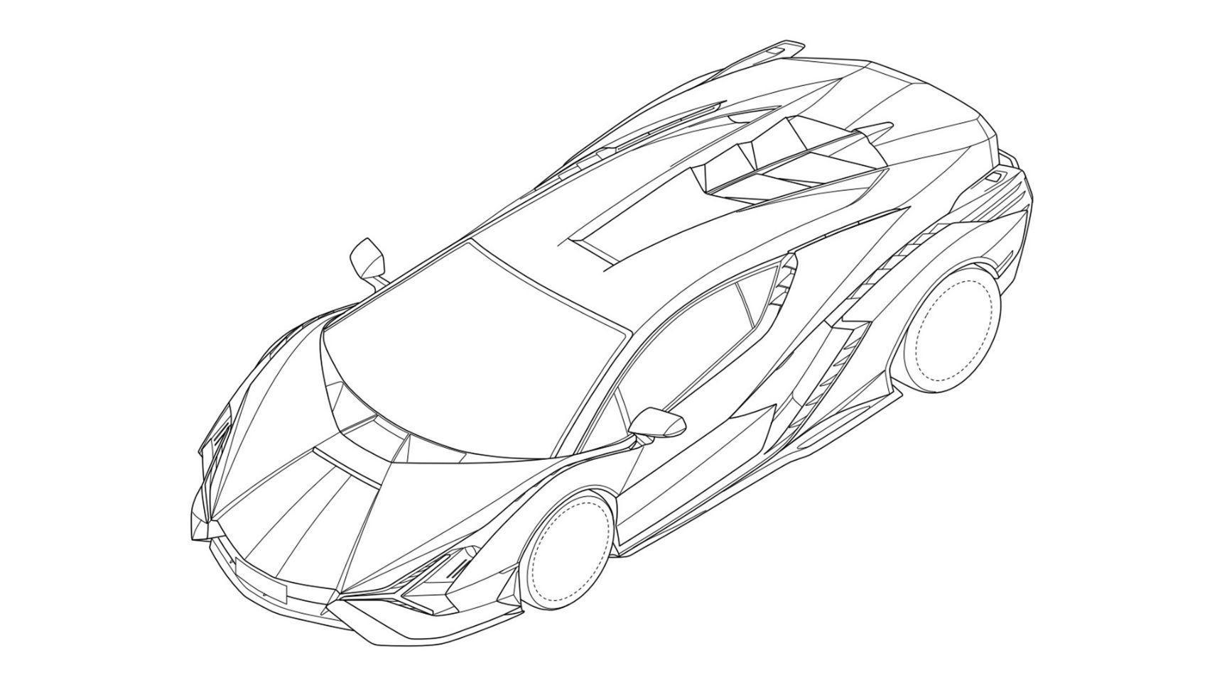 Самый мощный гиперкар Lamborghini запатентован в России