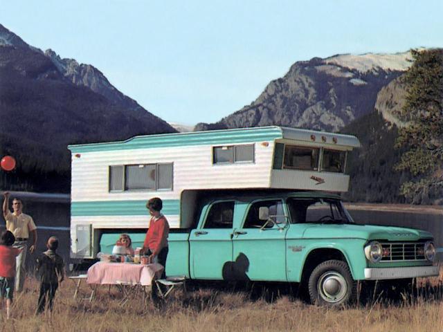 Dodge D200 Crew Cab Camper Special 1967
