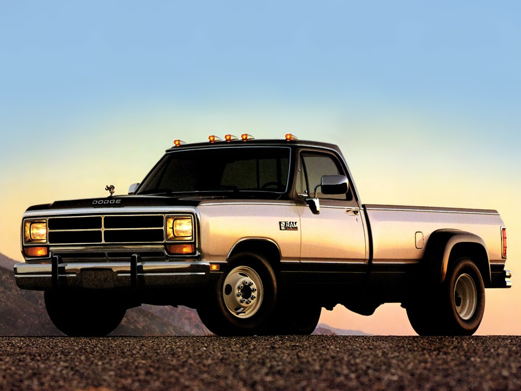 Dodge Ram D350 Regular Cab 1989