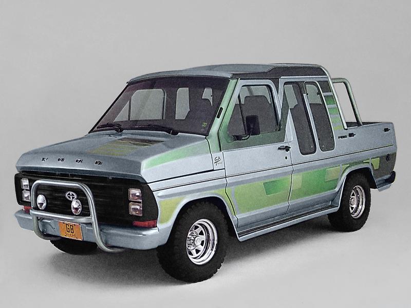 Ford F-1000 GB 1986-91
