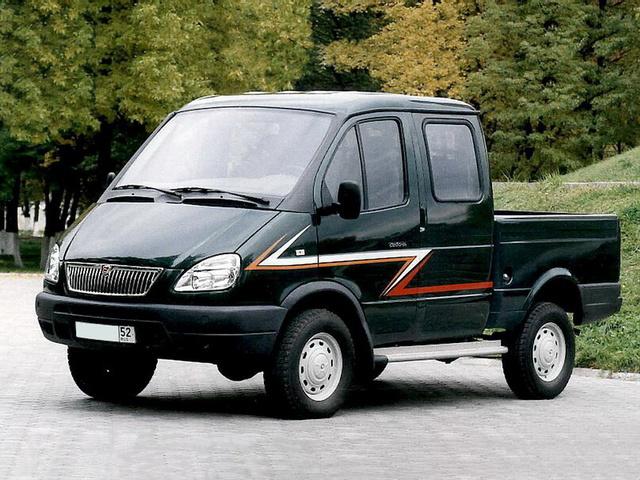 """ГАЗ-231079 """"Соболь"""" 2000"""