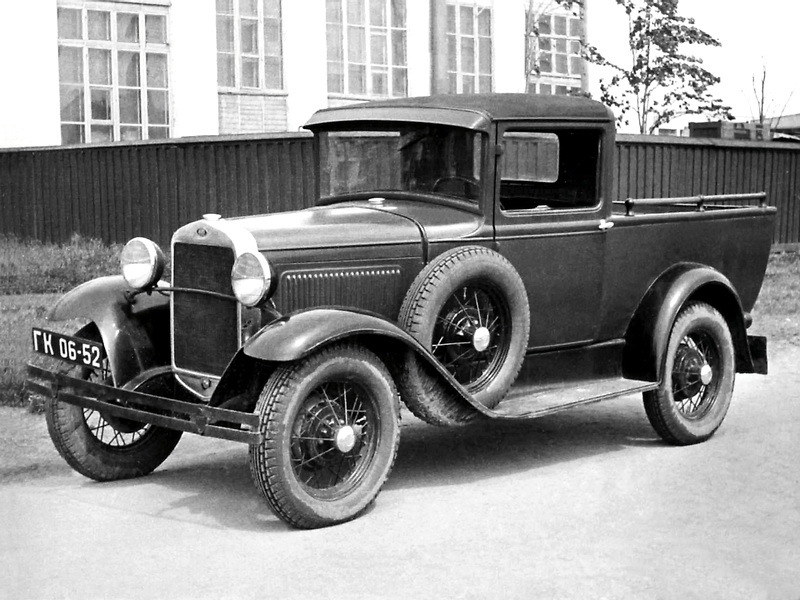 ГАЗ-4 1933-37