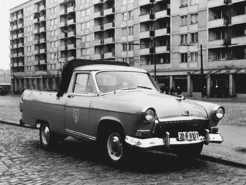 ГАЗ-21 Пикап 1959-62