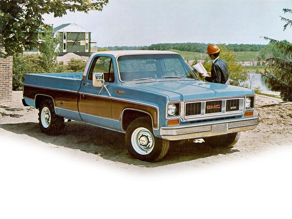 GMC C3500 Regular Cab Pickup 1973