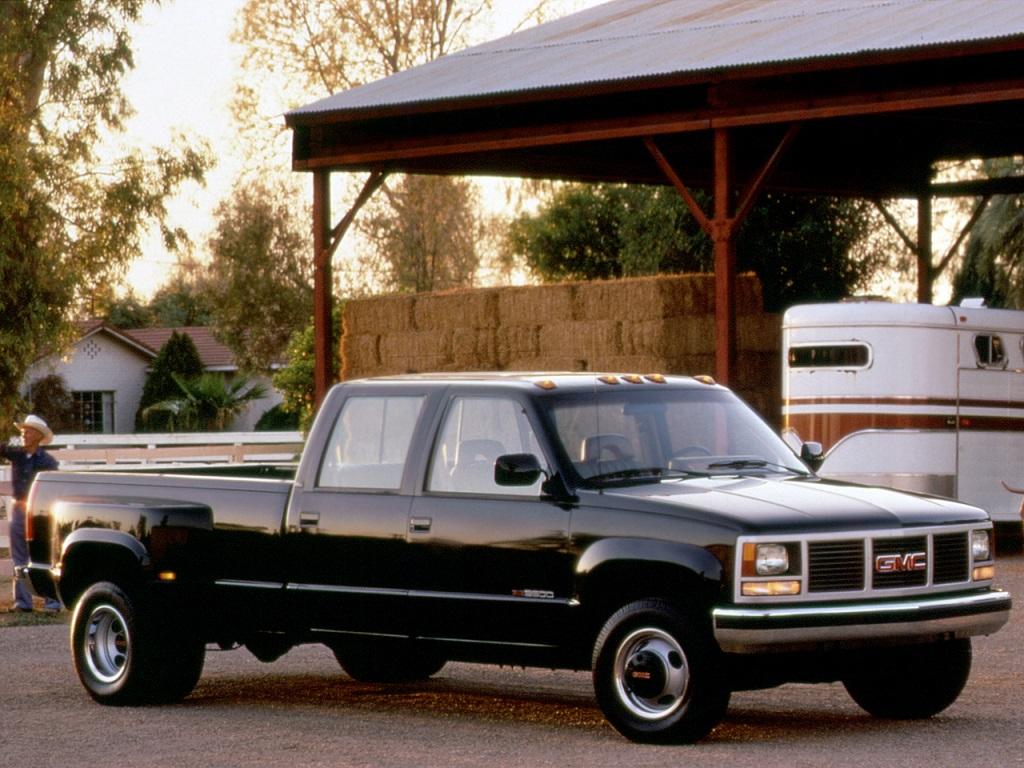 GMC Sierra 3500 HD Crew Cab 1988-92