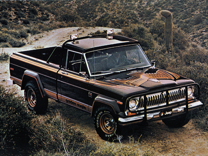 Jeep J-10 Golden Eagle 1978