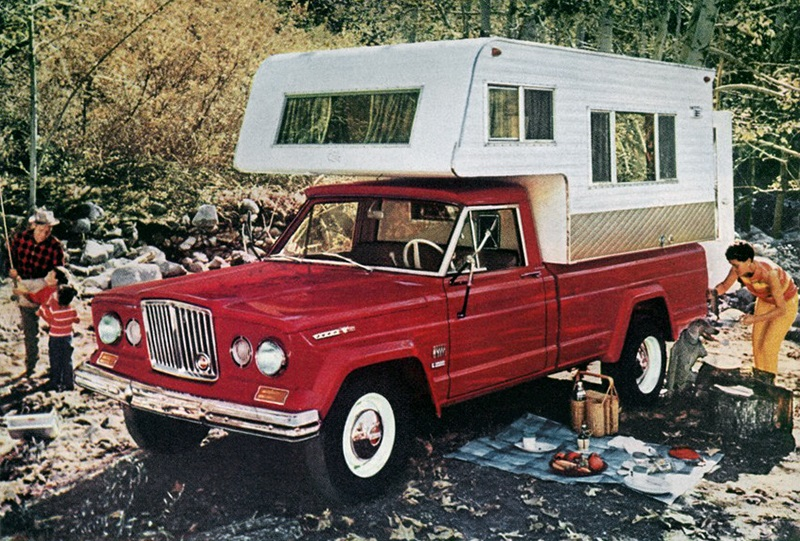 Jeep J4000 Gladiator Camper-trailer 1966
