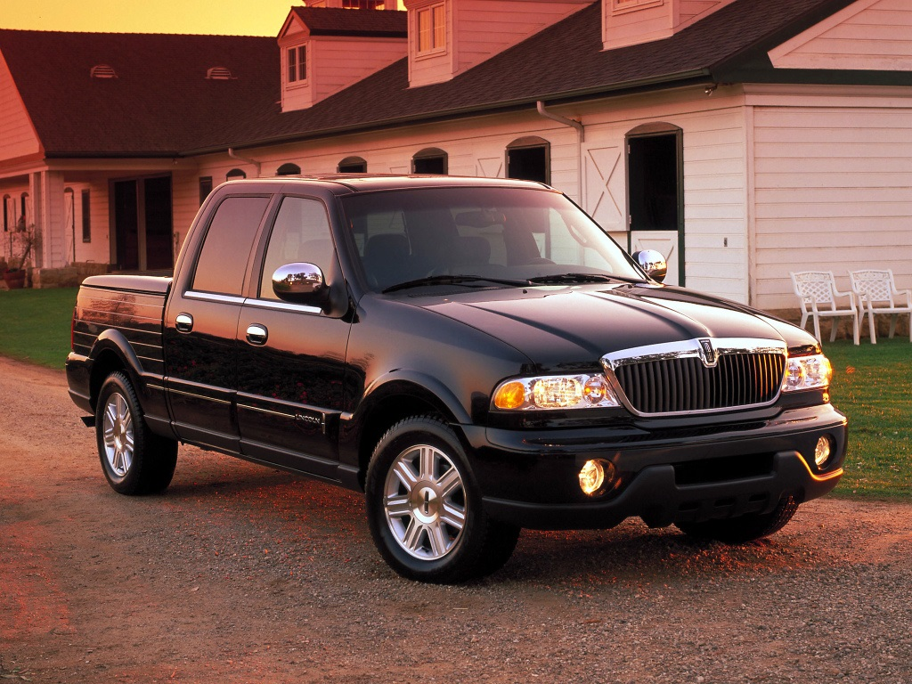 Lincoln Blackwood 2001-02