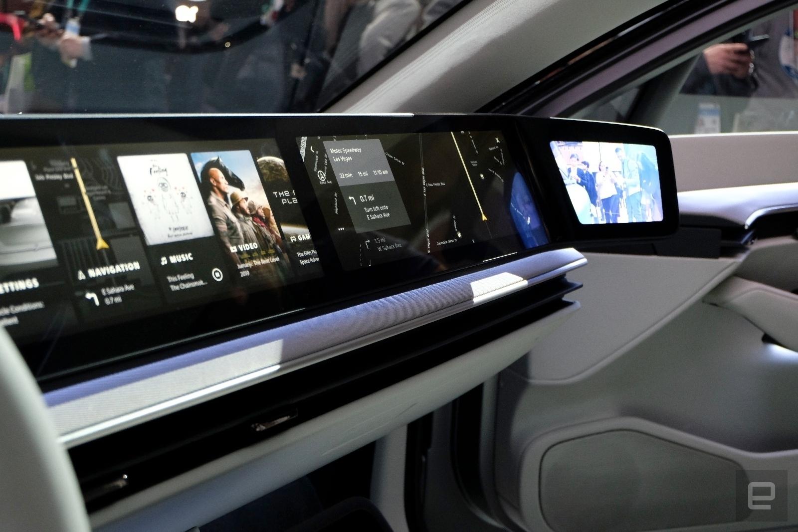 Электромобиль от Sony