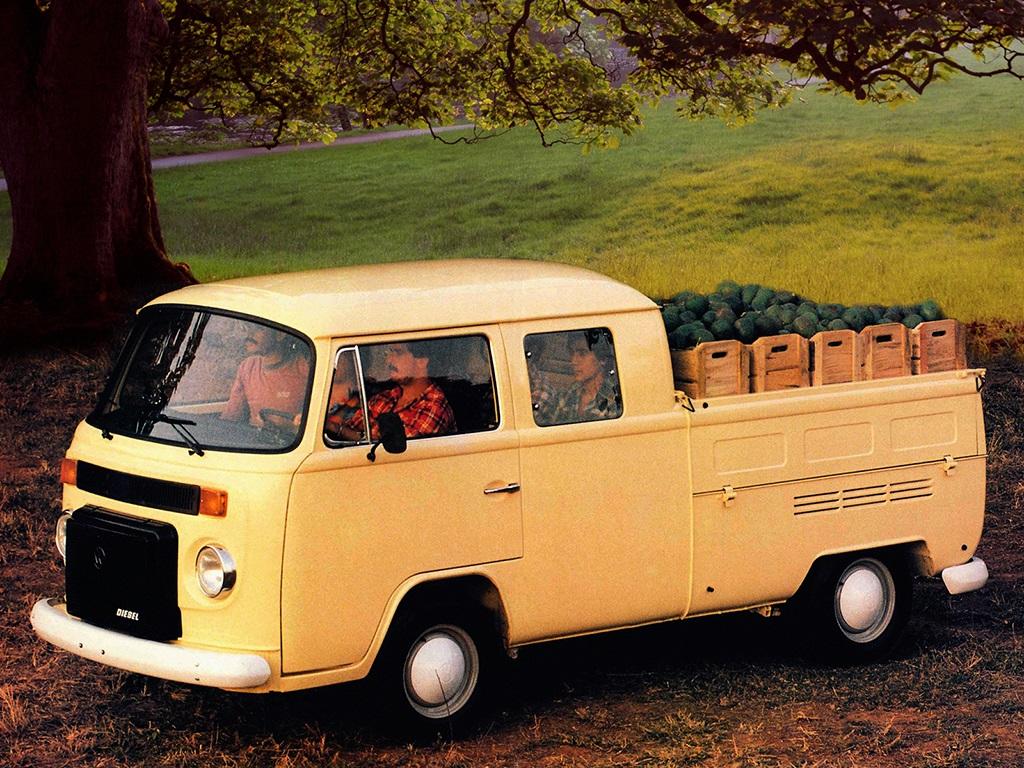 Volkswagen T2 Double Cabine Pickup 1982