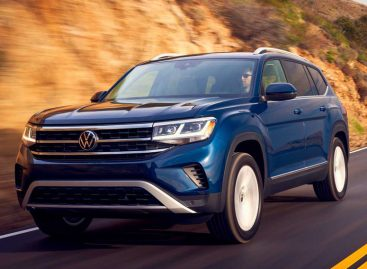 Volkswagen представил обновленный Teramont