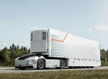 Грузовики Volvo без водительских кабин и без водителей появились на дорогах Швеции