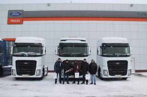 Сотый Ford Trucks F-Max отгружен российской транспортной компании