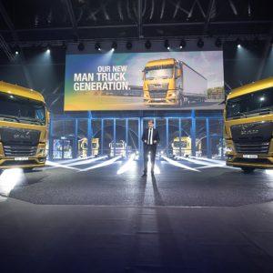 MAN представляет новое поколение грузовых автомобилей