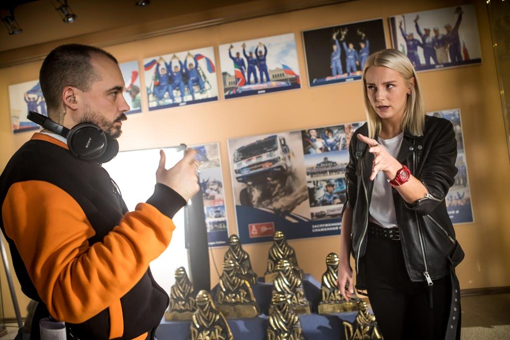 Телеканал НТВ приступил к съёмкам сериала о команде «КАМАЗ-мастер»
