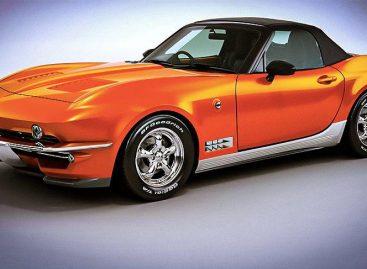 Стильные японские спорткары в стиле Chevrolet Corvette распродали