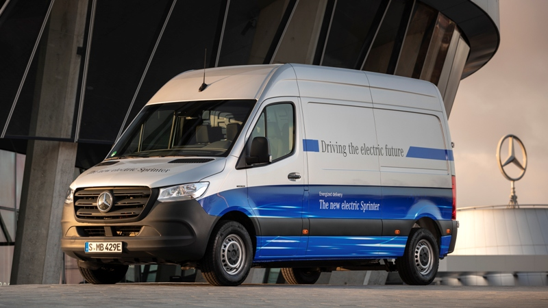 В декабре 2019 г. Mercedes-Benz представил eSprinter