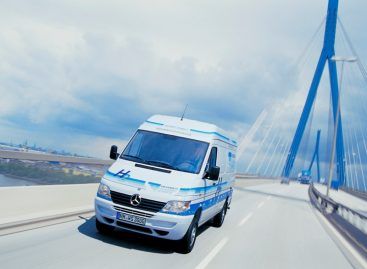 25 лет Mercedes-Benz Sprinter