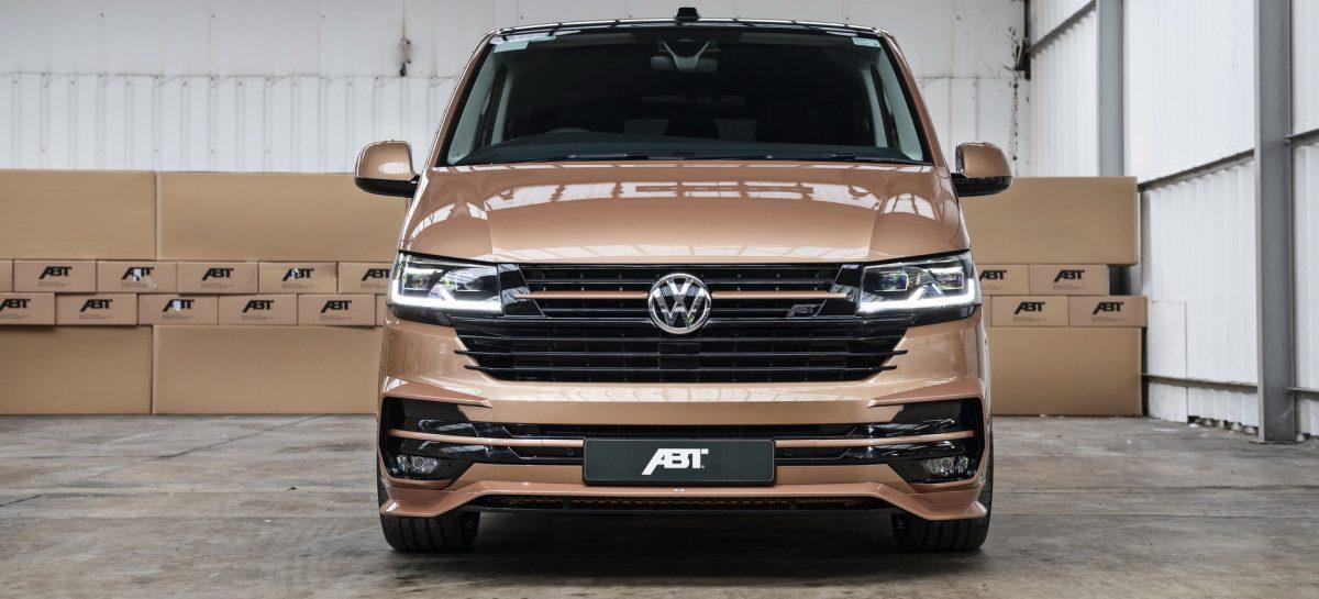 Volkswagen Transporter получил аэрокит, занижение и прибавку мощности