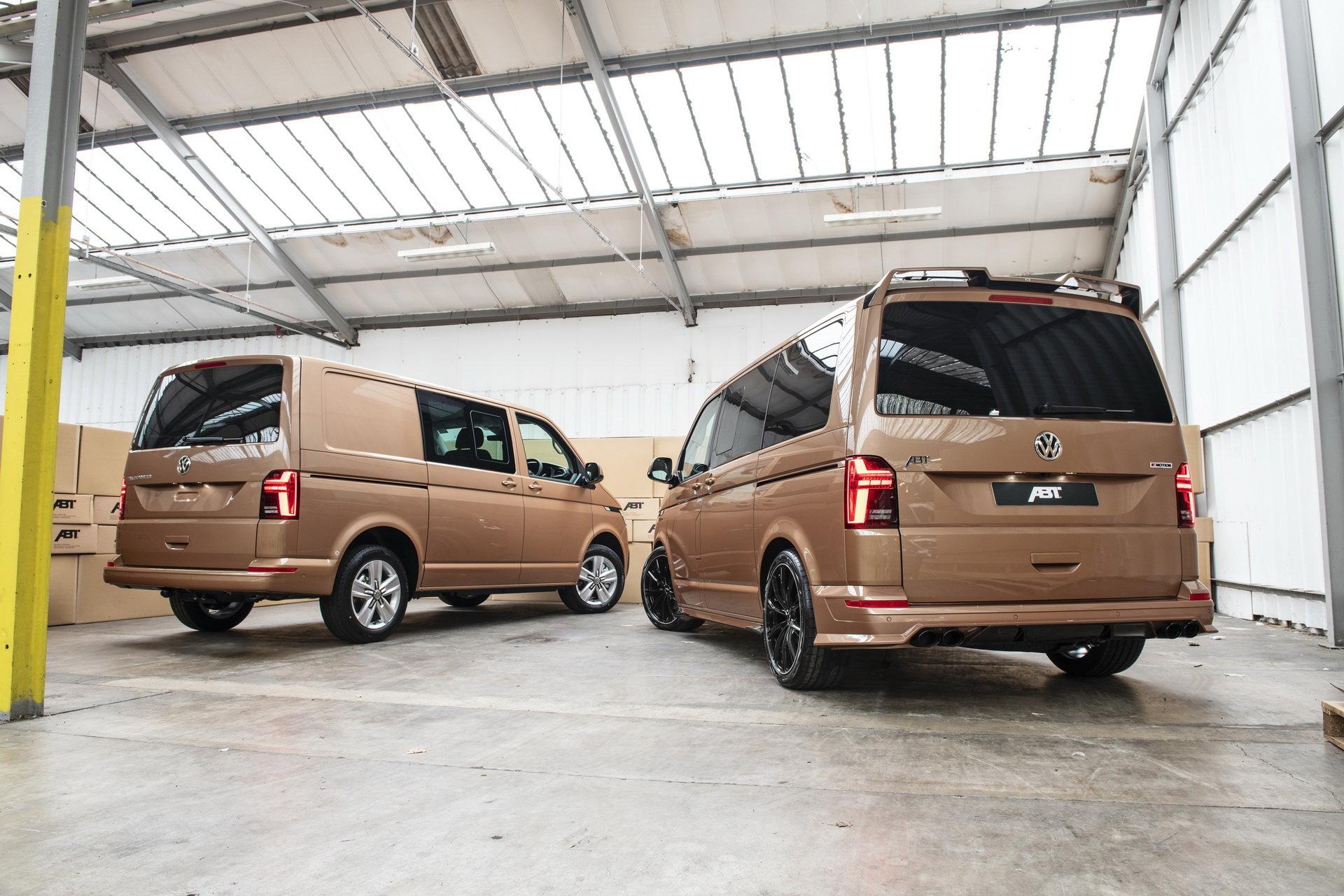 Volkswagen T6.1 в исполнении ABT и сток