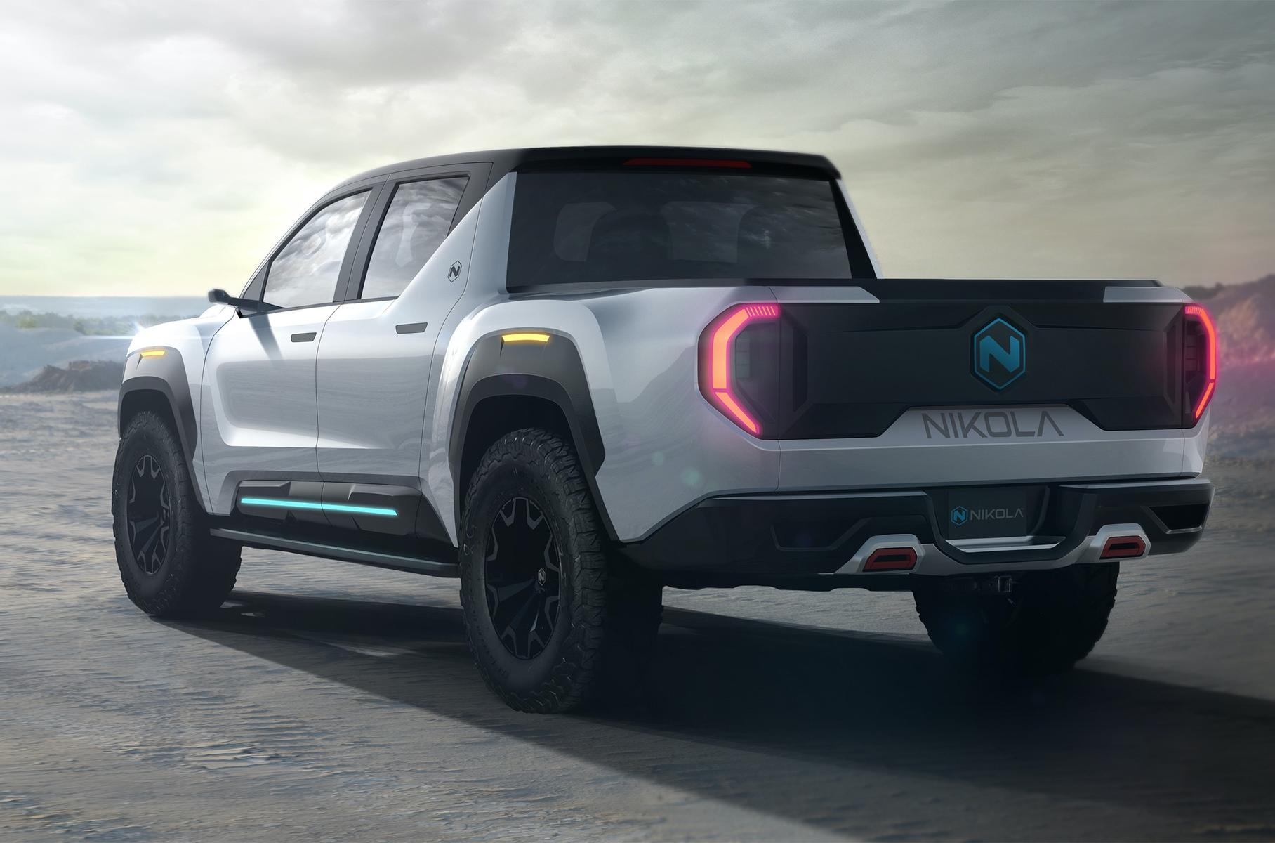 Nikola Motors представил пикап Badger («Барсук»)