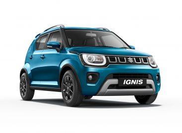 Suzuki показала обновленный Ignis на автосалоне в Индии