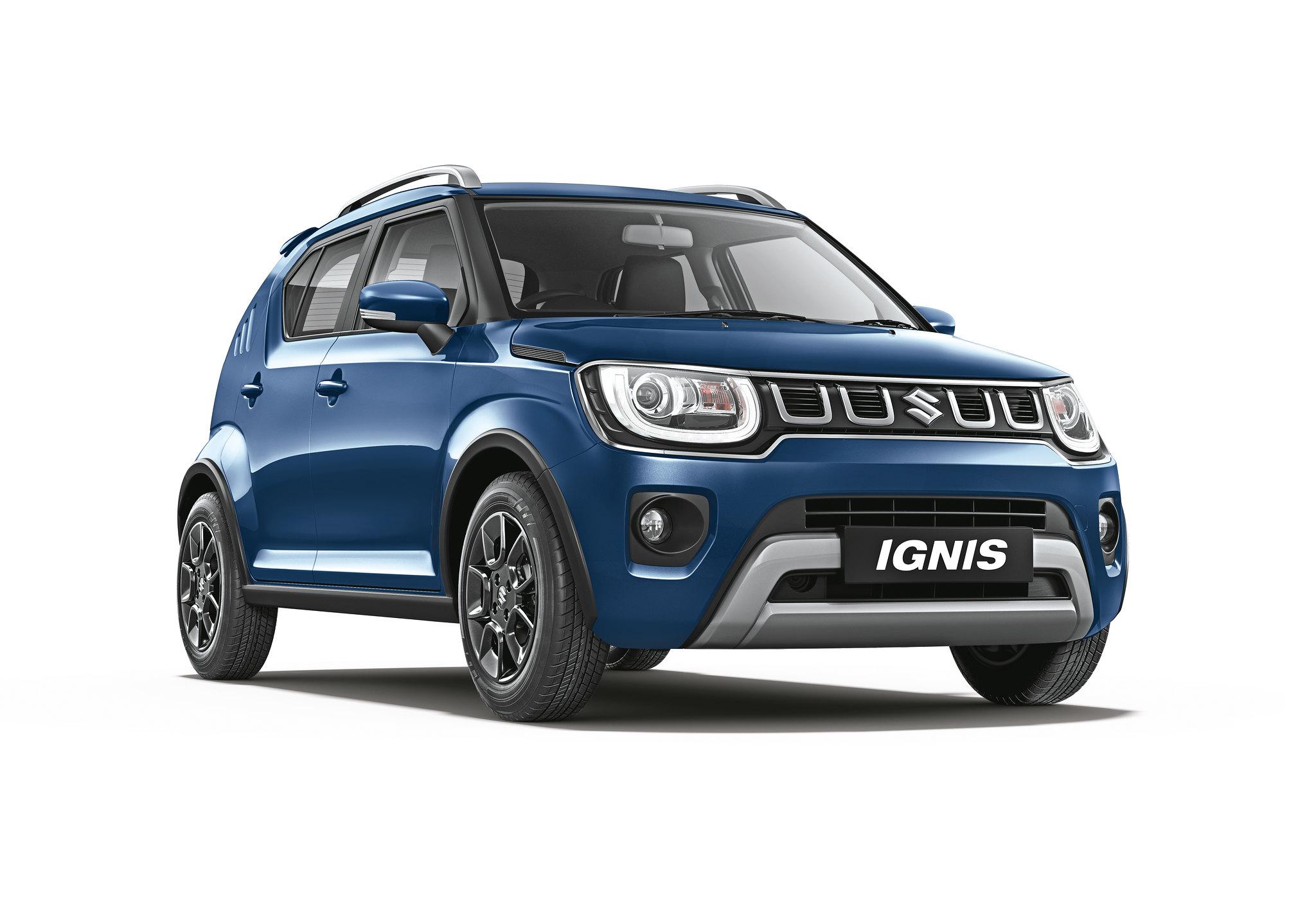 обновленный кроссовер Suzuki Ignis