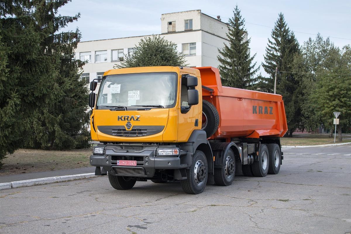 Опытный КрАЗ с кабиной Renault Kerax
