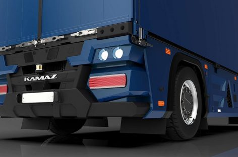 КАМАЗ разработал беспилотный тягач без кабины
