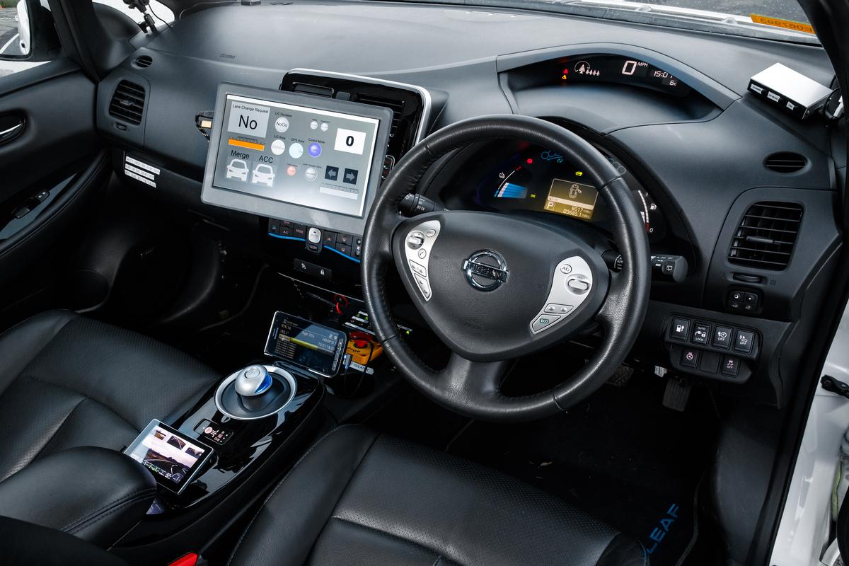 Nissan LEAF NumanDrive