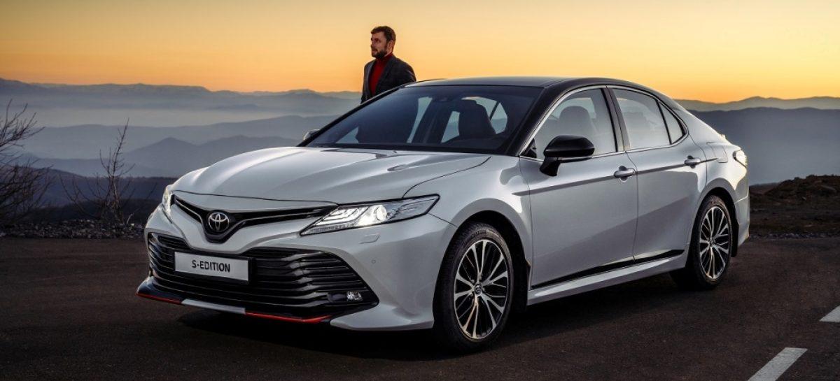Toyota Camry S-Edition уже доступна в дилерских центрах