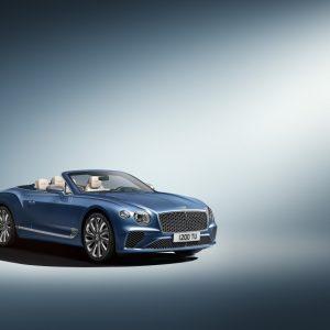 Новый Bentley Сontinental GT Mulliner convertible