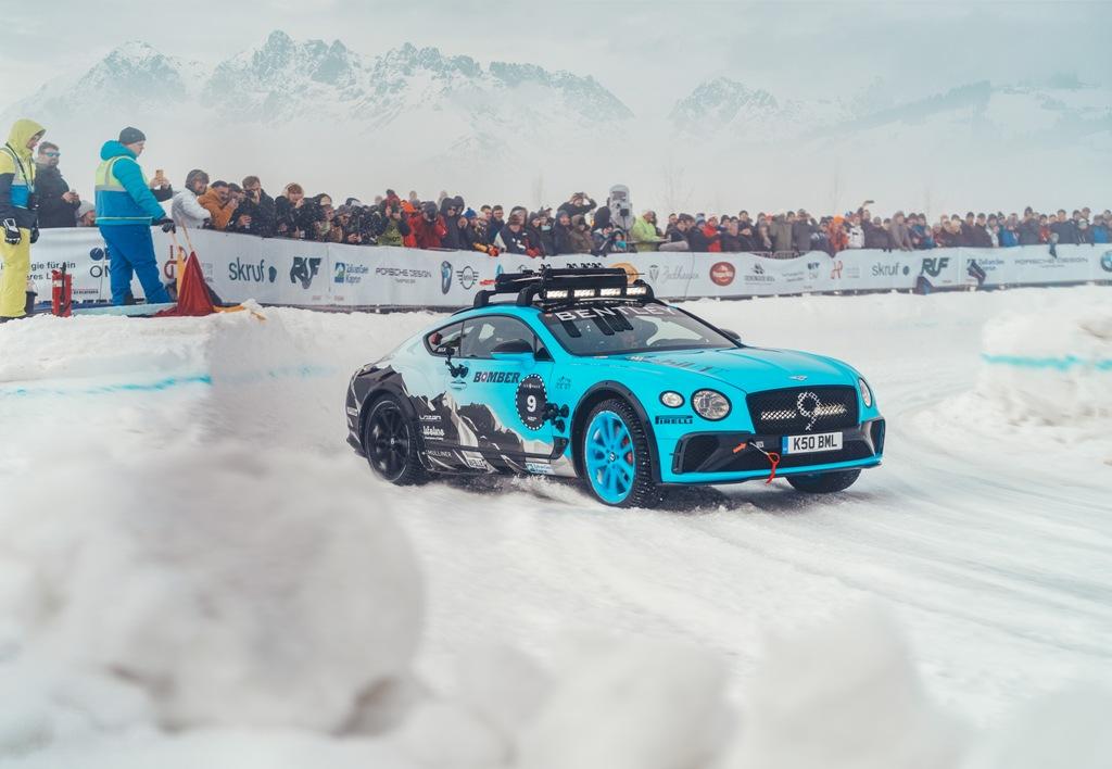 Bentley at GP Ice Race