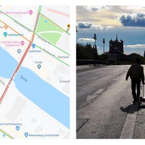 Немецкий художник создал виртуальные пробки в Google Maps