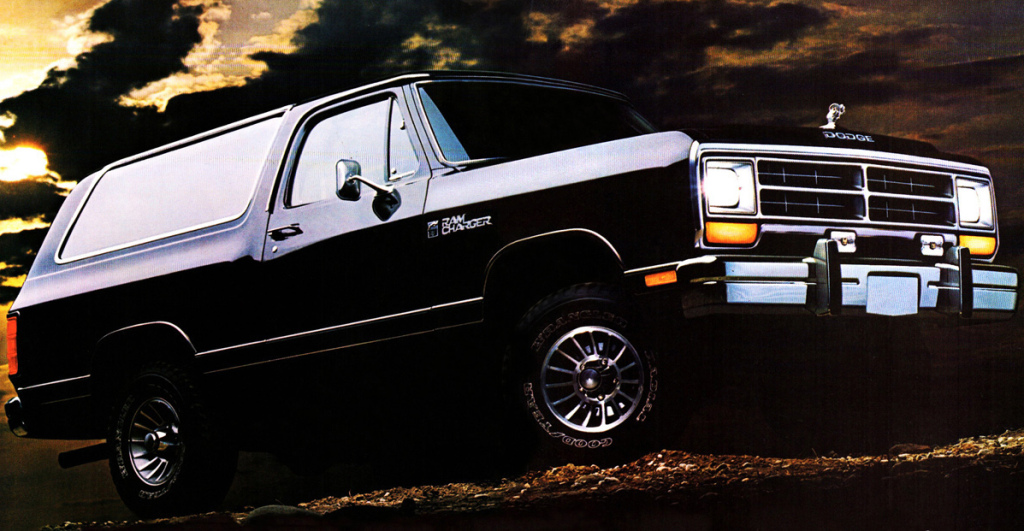Dodge Ramcharger 1987-88
