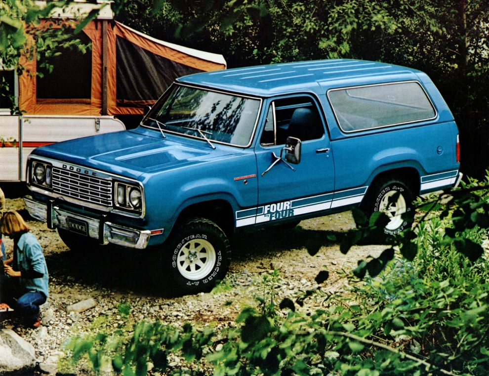 Dodge Ramcharger Four by Four 1978