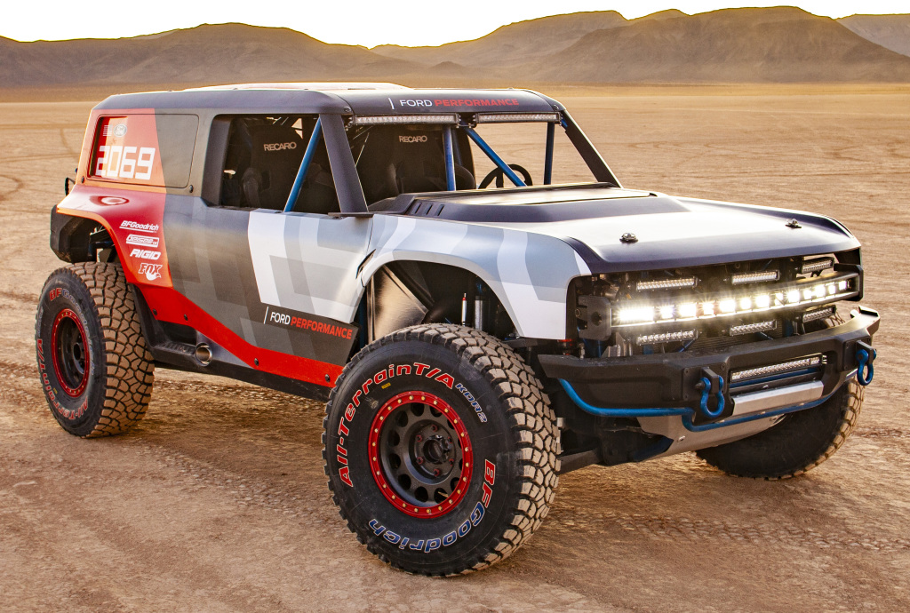 Ford Bronco R Race Prototype 2019