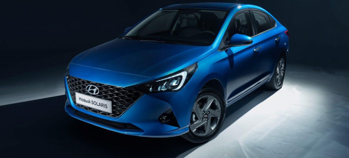 Hyundai Motor представляет первые официальные фото обновленного Hyundai Solaris