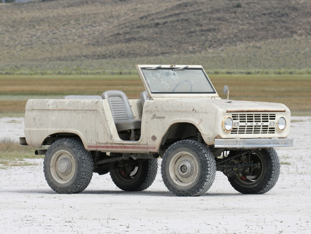 ICON 1966 Bronco Derelict Roadster 2018