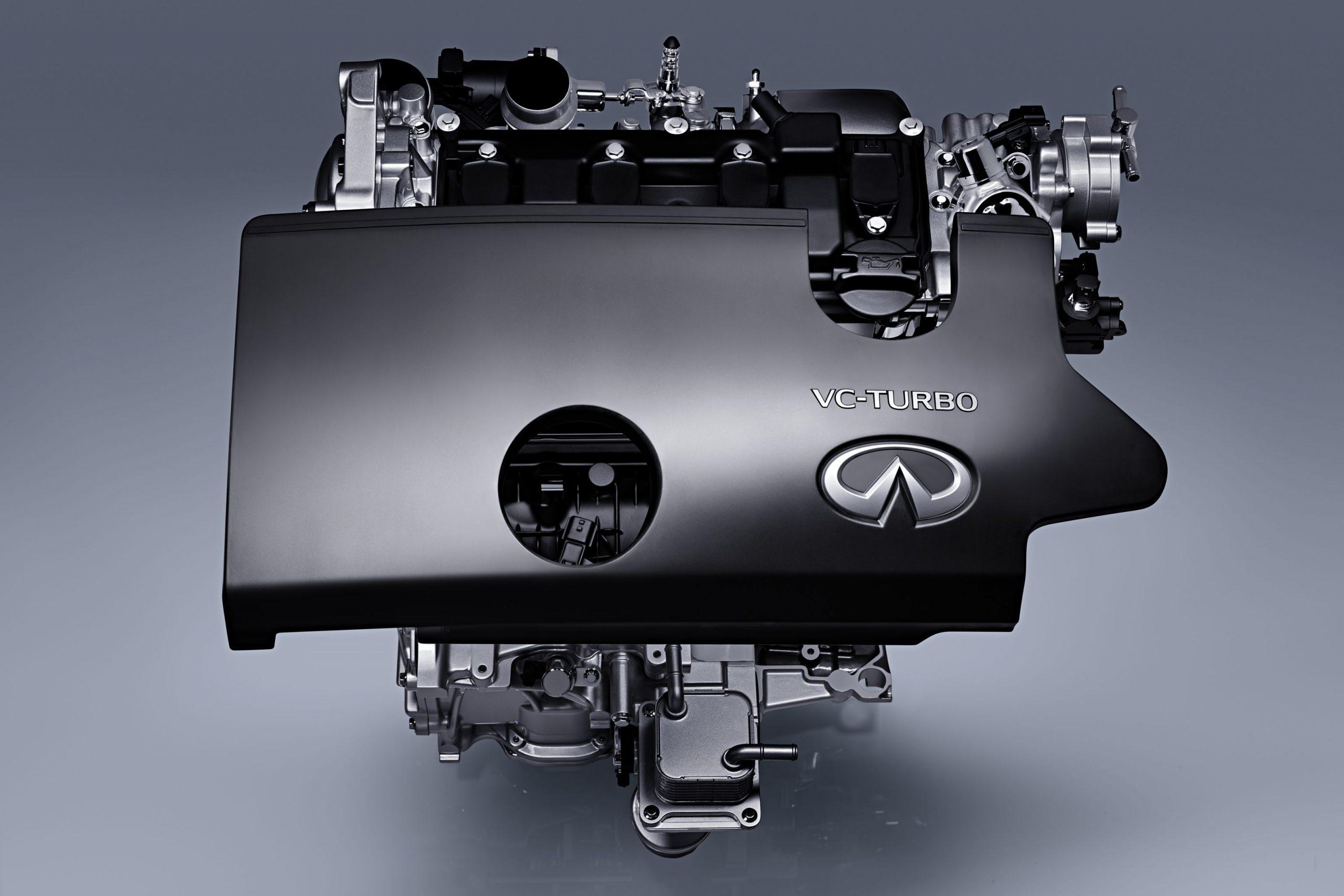 Двигатель Infiniti VC-Turbo