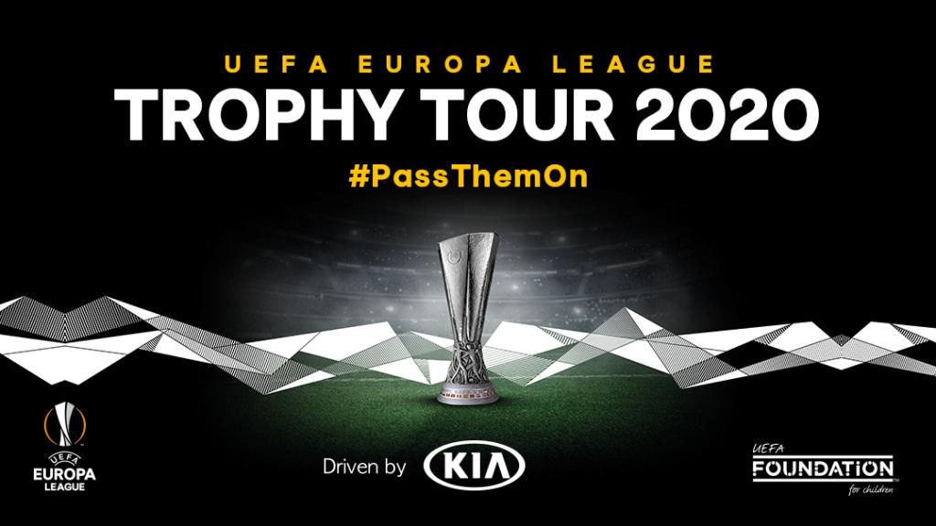 Новый сезон Трофи-тура Лиги Европы УЕФА стартовал при поддержке Kia