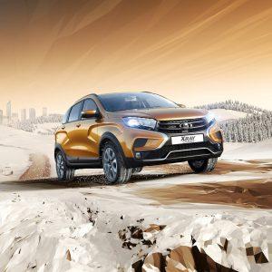 Предложение месяца от Lada: комплект зимних шин с установкой в подарок