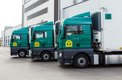 Один из крупнейших международных перевозчиков пополнил свой автопарк новыми грузовиками MAN
