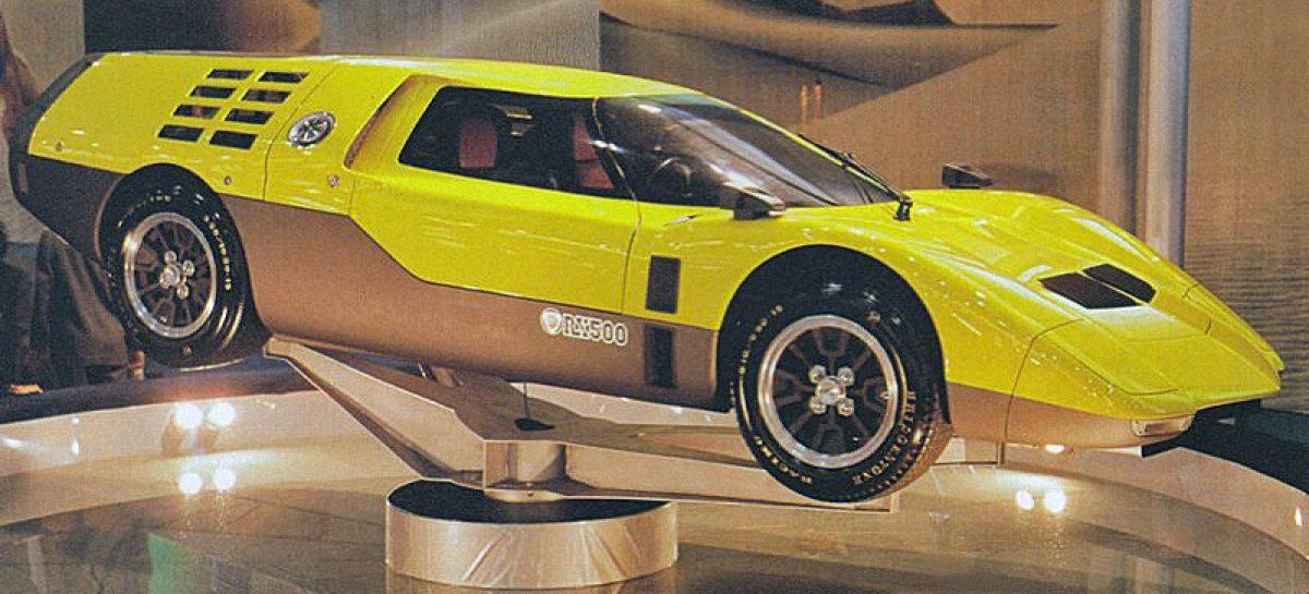 Mazda RX500 Concept или назад в будущее