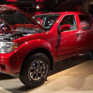 Новый двигатель Nissan дебютировал на старом пикапе начала 2000-х