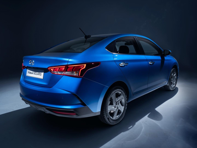 первые официальные фото обновленного Hyundai Solaris