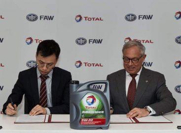 Total расширяет сотрудничество с китайскими брендами