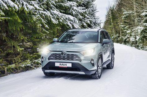 Toyota RAV4 показал рекордную динамику продаж за январь 2020 года